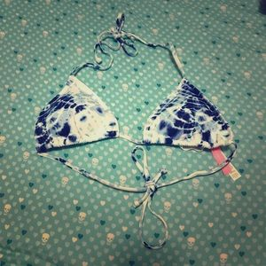 Victoria's Secret Tie-Dye Bikini Top Size S
